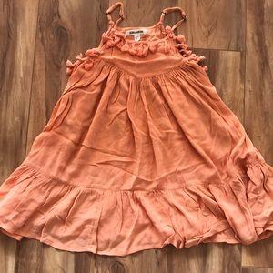 Billabong little girls xs coral sun dress